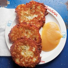 Kartoffelpuffer (Potato Pancakes) Recipe - Saveur.com