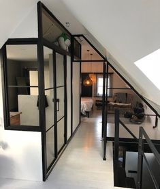 Take a look at this first rate photo – what a creative style and design Interior project Bedroom – Amstelveen Attic Apartment, Attic Rooms, Attic Spaces, Loft Conversion Bedroom, Attic Conversion, Loft Conversions, Interior Architecture, Interior Design, Loft Room