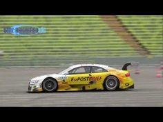 Video DTM 2012 Test Drive Audi, BMW und Mercedes-Benz im Olympiastadion am 12.06.2012