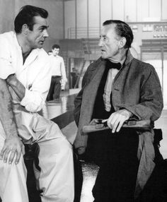 Sean Connery & Ian Fleming