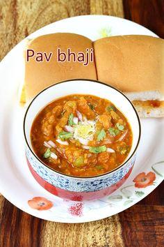 Pav bhaji is a thick