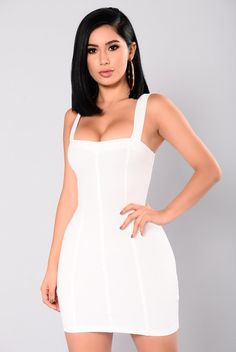 Brielle Mini Dress - Ivory
