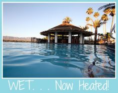 The Nautical Beachfront Resort has some exciting news... Our WET pool will be heated this #Christmas! Come enjoy the warm water and beautiful #LakeHavasu view!