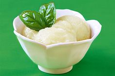 A delicious and simple sorbet - celebrating the best flavors of summer! Detailed recipe and photographs included.