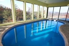 Indoor Outdoor Heated Swimming Pool