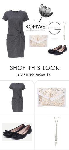 """ROMWE-2/8"" by thefashion007 ❤ liked on Polyvore featuring Audrey 3+1"