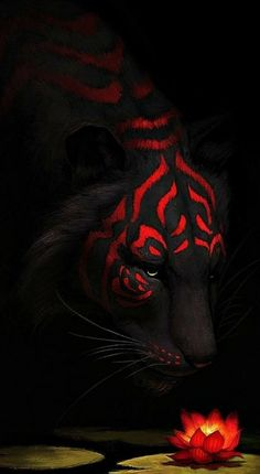 New Wild Nature Art Animals Ideas Tier Wallpaper, Animal Wallpaper, Trendy Wallpaper, Mythical Creatures Art, Fantasy Creatures, Big Cats Art, Cat Art, Dark Fantasy Art, Fantasy Artwork