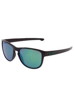 [kanui] Óculos sliver armaÇÃo preta lentes verdes r$ 305 + cupom de 10% +fg