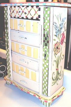 I want to do this to my jewelry box.