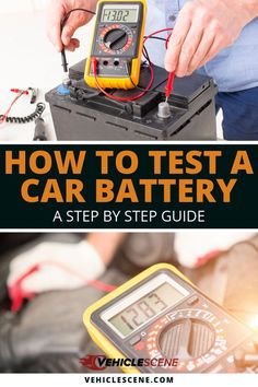 Do you know how to test a car battery properly? No? Maybe? Well, you will after reading our very simple and easy to follow guide... #carmaintenance #cartips #vehiclehowto #vehiclecare #underthehood Driving Rules, Motorcycles In India, Power Tool Batteries, Car Gadgets, Car Hacks, Good Tutorials, Step Guide, Reading, Easy