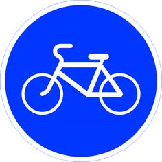 """Предписывающий дорожный знак """"Велосипедная дорожка"""" говорит нам, что здесь проходит велосипедная дорожка. Движение другим транспортным средствам запрещено. Заказать предписывающий дорожный знак """"Велосипедная дорожка"""" можно оформив заявку на наш электронный адрес. Поставщик: Магазин Охраны Труда Охрана Труда 21.ру.  Доставим в регионы предписывающие дорожные знаки в любом количестве."""