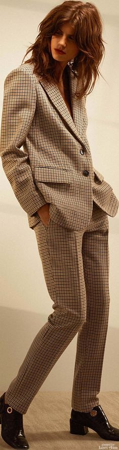 Tibi Pre-Fall 2016. formal suit @roressclothes closet ideas women fashion outfit clothing style apparel