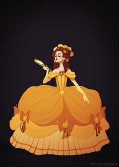 I think I like these Disney Princess gowns better than the real things.