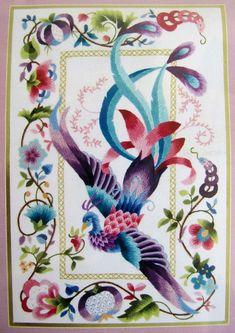 Elsa Williams Crewel Embroidery Kit Phoenix by EncoreEmporium
