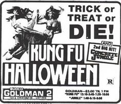 Halloween Inspo, Halloween Ii, Halloween Photos, Halloween Movies, Halloween Horror, Horror Movie Posters, Horror Movies, Kung Fu, Vintage Halloween Posters