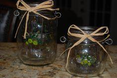 Frutta del prato jar tea light holder by SugarShakDesigns on Etsy