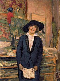 Edouard Vuillard Lucien Belin smiling - 1915