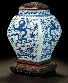 Altri Complementi D'arredo Collection Here Vaso Imari Ceramica Giappone Asia Xix S Antico Deco Orient Blu Rosso Attractive Appearance