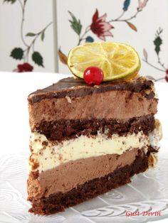 Chocolate Orange, Vanilla Cake, Tiramisu, Mousse, Ethnic Recipes, Desserts, Food, Pie, Tailgate Desserts
