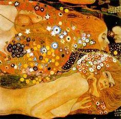 Famous Mermaid Art | Acqua Mossa painting, aGustav Klimt paintings reproduction, we never ...