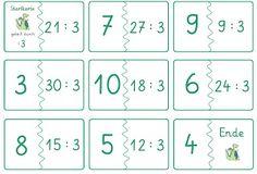 Lernstübchen: Dominos zu den Geteiltaufgaben