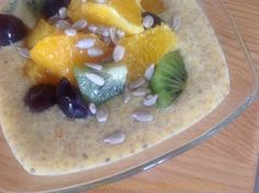Orange Flax & Chia Seed Pudding