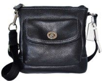 Coach Park Handbag Leather Swingpack Crossbody Bag Purse From Coach List Price:	$168.00 OUR Price:	$68.55