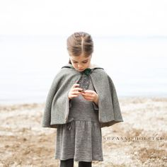 The children's Traveller Cape digital sewing pattern is easy to make and easy to wear, it indulges kids' fairytale-esque ways. Everything from cloak length costumes, to an everyday alternative to a coat, this pattern does it all. Capelet Pattern Sewing, Cloak Pattern, Pdf Sewing Patterns, Sewing Ideas, Sewing Crafts, Sewing Projects, Diy Projects, Clothing Patterns, Love Sewing