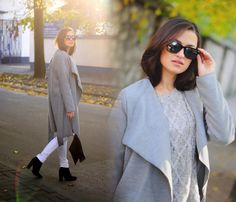 Płaszcz oversize~! <3 #coat #ootd #outfit #streetfashion #streetstyle #blog girlswear.pl