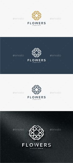 Flowers - Logo Template #design #logo Download: http://graphicriver.net/item/flowers-logo-template/11821462?ref=ksioks