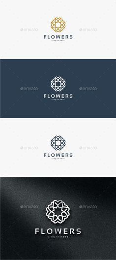 Flowers - Logo Template #design #logo Download: http://graphicriver.net/item/flowers-logo-template/11821462?ref=ksioks