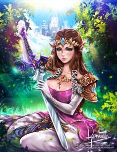Zelda - Twilight Princess by Reivash.deviantart.com on @DeviantArt