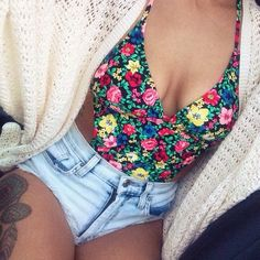 now this swimsuit is cute! girlie and covering and revealing at the same time! i love it!