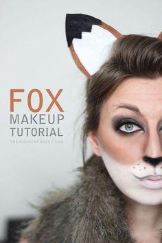 maquillage renard