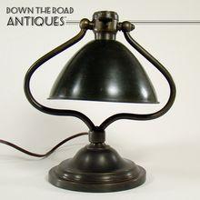 Bradley U0026 Hubbard Harp Desk Lamp C.1910