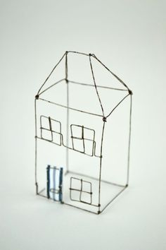 Small Wire House by Louise Dawn Wilson.