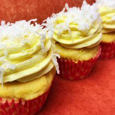 #cupcakes #lemon #coconut