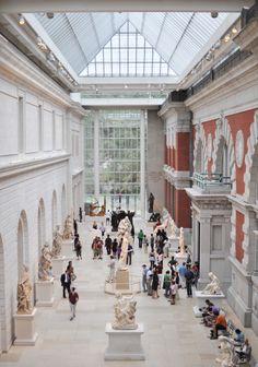 Atrium at the Met <3