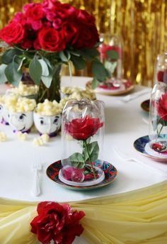Beauty and the Beast DIY Birthday Party | POPSUGAR Home