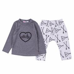 Grey Pullover & Tent Pants Set, 28% discount @ PatPat Mom Baby Shopping App