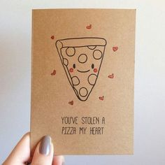 My valentine, pizza♡