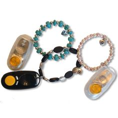 Stylish clicker's for clicker training your dog!