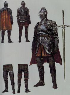 Drakeblood armor set from Dark Souls 2 Dark Souls 3 Knight, Arte Dark Souls, Dark Souls 2, Dark Souls Armor Sets, Armadura Medieval, Inspiration Drawing, Character Inspiration, Medieval Armor, Medieval Fantasy