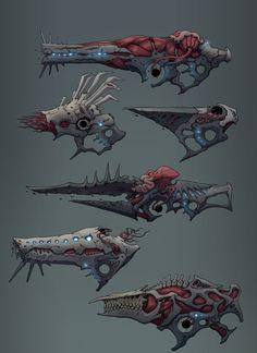 Weapons by Guillem Ferrer on ArtStation. Anime Weapons, Sci Fi Weapons, Weapon Concept Art, Weapons Guns, Fantasy Weapons, Character Inspiration, Character Art, Character Design, Arte Robot