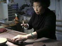 Zisha Teapots with National Living Treasure Zhou Gui Zhen and Zhu Jian Long Pottery Teapots, Ceramic Teapots, Ceramic Clay, Ceramic Pottery, Pottery Tools, Pottery Classes, Pottery Wheel, Ceramic Techniques, Pottery Techniques