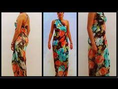 Cómo realizar un vestido de seda sin coser | Aprender manualidades es facilisimo.com