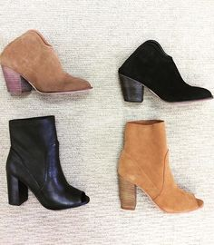 WEBSTA @ effiesinc - This Just In!!!! Fall into next season with the perfect transitional shoes! Great styles and great prices! #bootielovin #showmethesuede