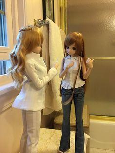 Smart Doll Kizuna Yumeno and Mirai Suenaga by GhostKarin