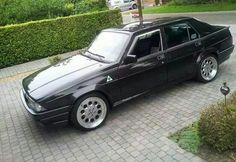 Alfa 75 what fun. I have had two of these