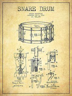 vintage drum drawings - Google Search